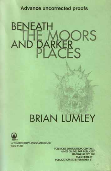 Beneath the Moors Cover